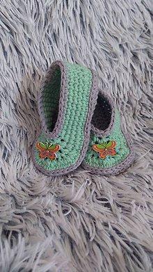 Topánočky - Papučky - 10429180_