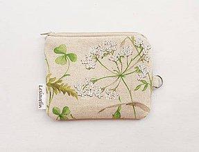 Peňaženky - Peňaženka/dokladovka - Lúčna tráva - 10427013_