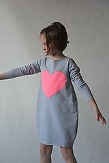 """Detské oblečenie - Teplákové balónové šaty/tunika """"mama a dcéra"""" Matylda - 10427100_"""