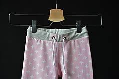 Detské oblečenie - Maia nohavice baby pink 110 - posledný kus! - 10427903_