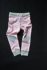 Detské oblečenie - Maia nohavice baby pink 110 - posledný kus! - 10427906_