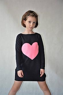 Detské oblečenie - Teplákové balónové šaty/tunika Flo - 10426958_