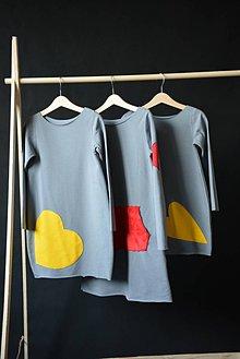 Detské oblečenie - Teplákové šaty/tunika Bealoo Bold - 10427869_
