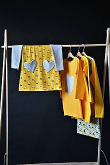 Detské oblečenie - Cool úpletové šaty yellow eyes - 10427927_
