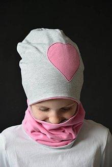Detské súpravy - Obojstranný set Pinkki - 10428041_