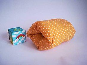 Textil - žltý bodKojovankúš - 10427944_