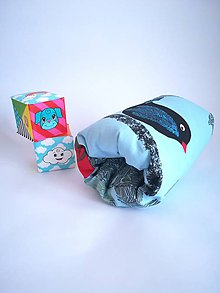 Textil - mini vtáčKojovankúš - 10427967_