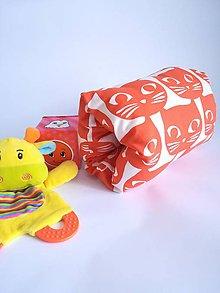 Textil - mini mačKojovankúš - 10428062_