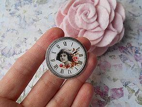 Odznaky/Brošne - Brošňa s hodinkami - 10428971_