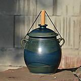 Nádoby - Kvašák velký buclatý s vodním zámkem 4,1l - Z .. - 10426388_