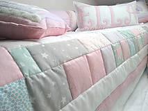 Úžitkový textil - do dievčenskej izby - 10426694_
