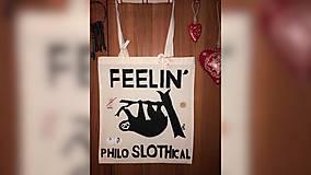 Iné tašky - ♥ Plátená, ručne maľovaná taška ♥ - 10426374_