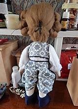 Hračky - Mäkká bábika TILDA  (princ) - 10428269_