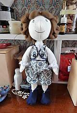 Hračky - Mäkká bábika TILDA  (princ) - 10428276_