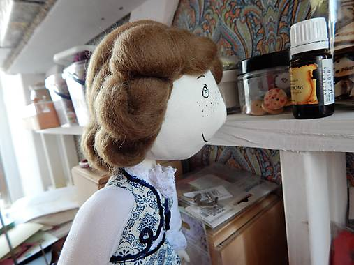 Mäkká bábika TILDA  (princ)