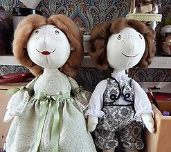 Hračky - Mäkká bábika TILDA - 10428254_