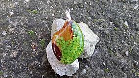 Prívesok Green Stone