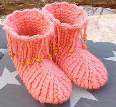 b014455b15d Pletené ponožky   melania02 - SAShE.sk - Handmade Obuv