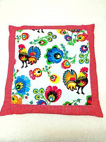 Úžitkový textil - vankúš kohút - 10430486_