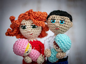 Hračky - Taká milá rodinka - 10428082_