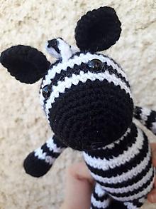 Hračky - Zebra - 10427765_