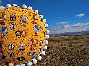 Textil - Vankúšový Cirkus - 10426851_