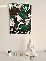 Obrazy - Abstraktný obraz Amazonka - 10427003_