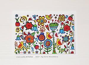 Papiernictvo - LÚKA ♥ klasická pohľadnica - 10430546_
