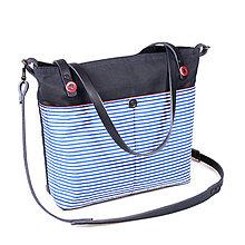 Veľké tašky - Dámská taška NAVY - 10427311_