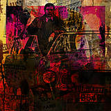 Obrazy - Pop Art obraz 007 Timothy Dalton - 10427899_