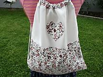 Batohy - Zero Waste Folk ruksak - ekologické vrecúško. - 10429935_