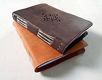 Papiernictvo - Kožený zápisník