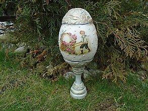 Dekorácie - vajíčko - 10427615_