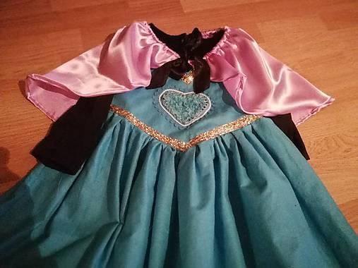 6bac258ed129 Šaty frozen   marikac - SAShE.sk - Handmade Detské oblečenie