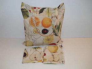 Nákupné tašky - EKO nákupný set - Ovocie - 10433594_
