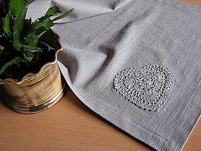 Úžitkový textil - *** Ľanová štóla *** - 10432688_