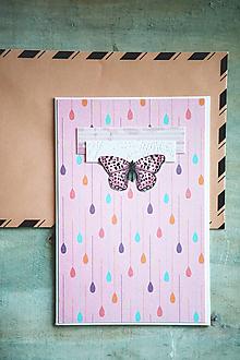 Papiernictvo - Scrapbook pohľadnica pre deti / narodeniny - 10432608_