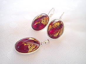 Sady šperkov - Sada šperkov so striebrom Ag 925 - 10433330_