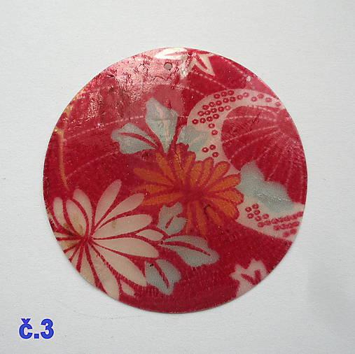 Perleťový prívesok 5cm-1ks (č.3)