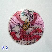 Korálky - Perleťový prívesok 5cm-1ks (č.2) - 10434434_