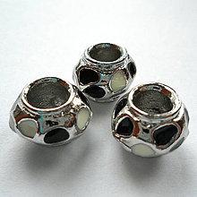 Korálky - Pandora 9x13mm-1ks - 10434464_