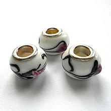 Korálky - Pandora sklo 9x14mm-1ks - 10434480_
