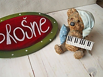 Odznaky/Brošne - Brošňa - klavír - 10432159_