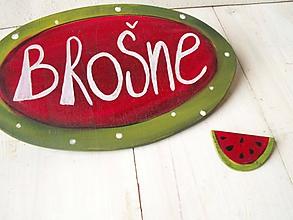 Odznaky/Brošne - Brošňa - melón. - 10432130_