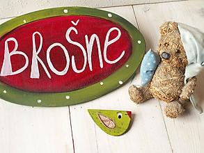 Odznaky/Brošne - Brošňa - vtáčik - 10432293_