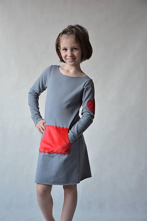c4ca3a7bf145 Teplákové šaty Minkey   jezibabka - SAShE.sk - Handmade Detské oblečenie