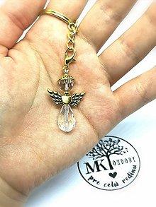 Náhrdelníky - Ochranný anjelik  (Zlatá) - 10433372_