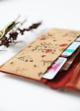 Peňaženky - Privolávame jar - peňaženka I. - 10430990_