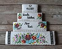 Dekorácie - Medovník torta - 10431095_