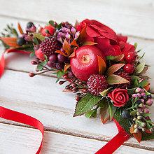 "Náhrdelníky - Kvetinový náhrdelník ""chuť lesného ovocia"" - 10434279_"